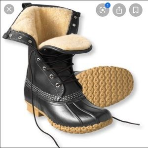 LL Bean Shearling Lined Boots
